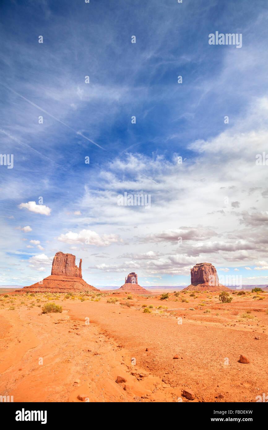 Immagine della Monument Valley, Stati Uniti d'America. Immagini Stock