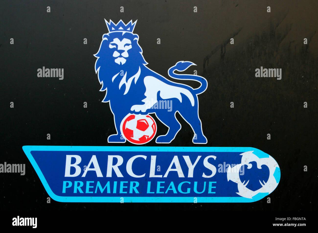 Das Logo der Marke 'Barclays Premiere League', Berlino. Immagini Stock