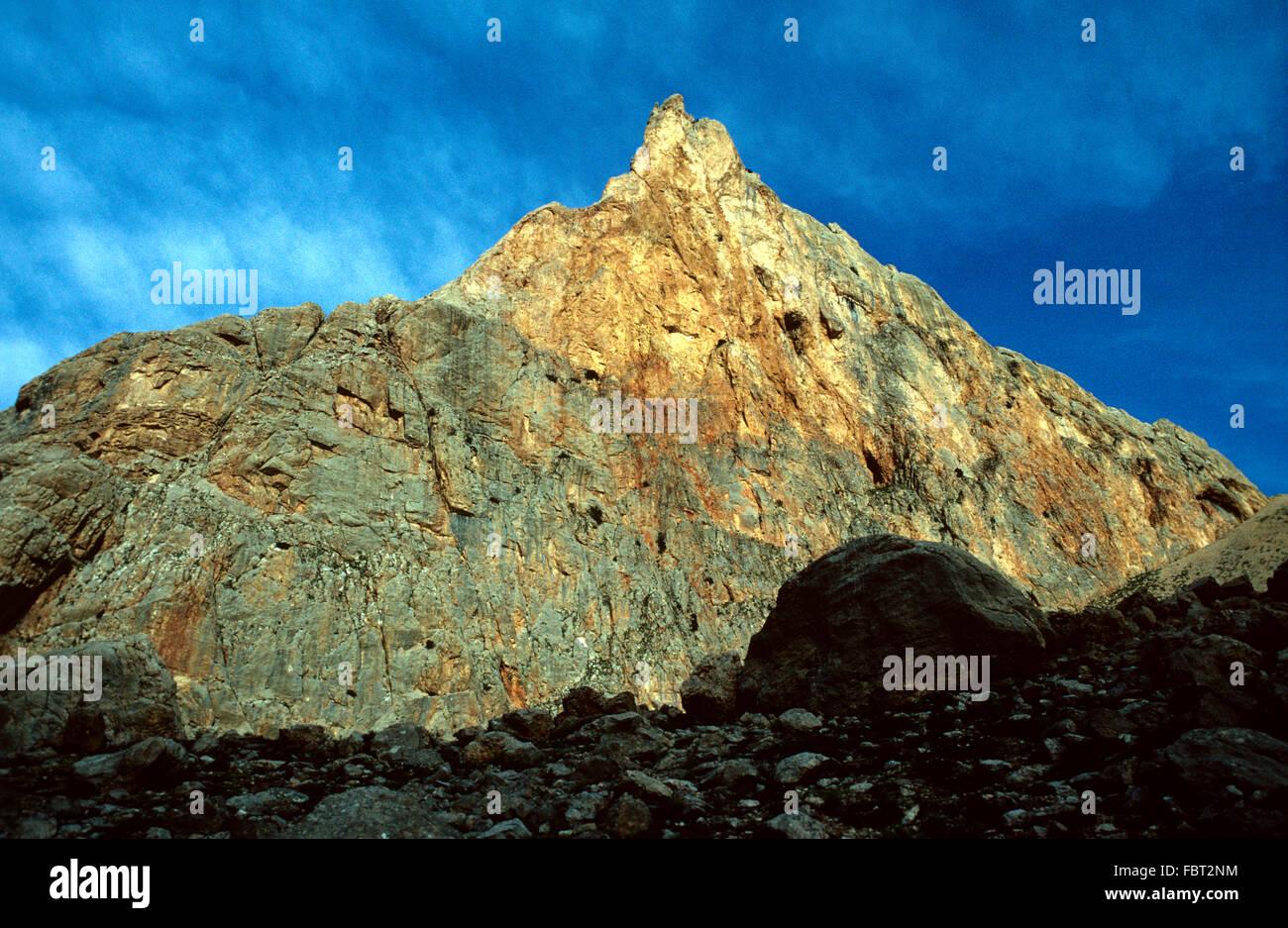 Alba sopra la Gola di Narpuz nell'Ala Daghia gamma delle montagne del taurus Turchia Immagini Stock