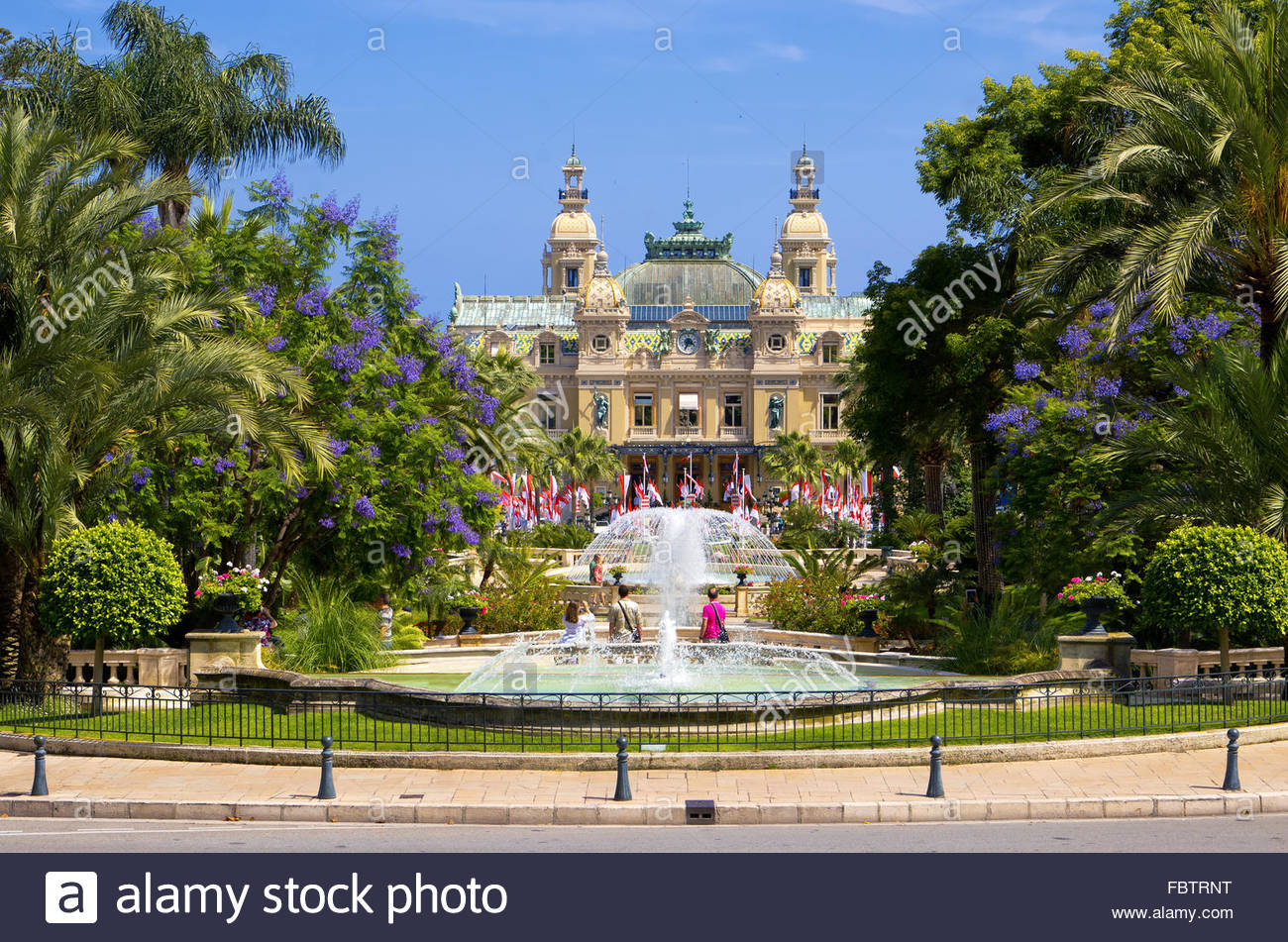 Casinò di Monte Carlo, Monaco Immagini Stock