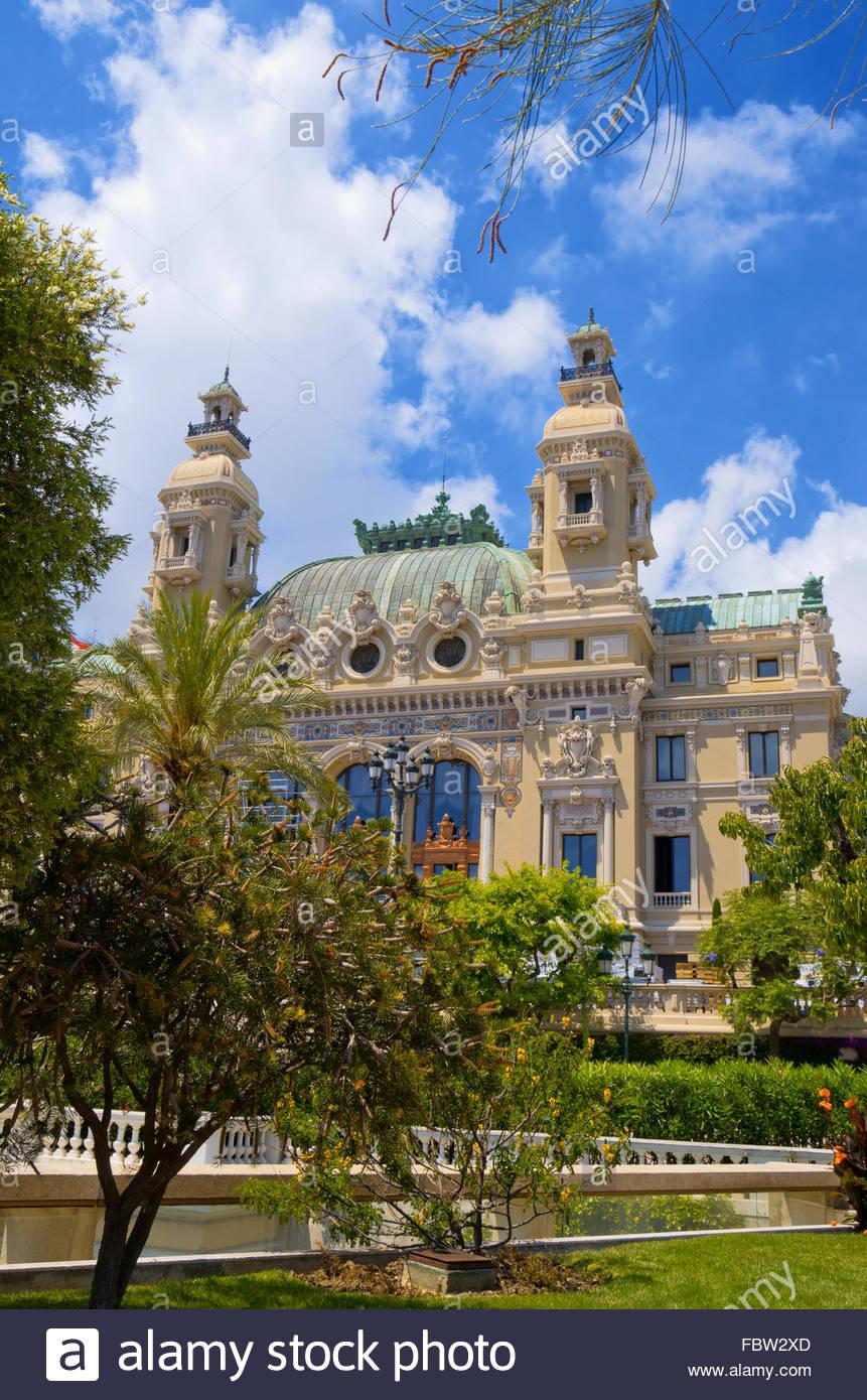 Opera House a Monaco Immagini Stock