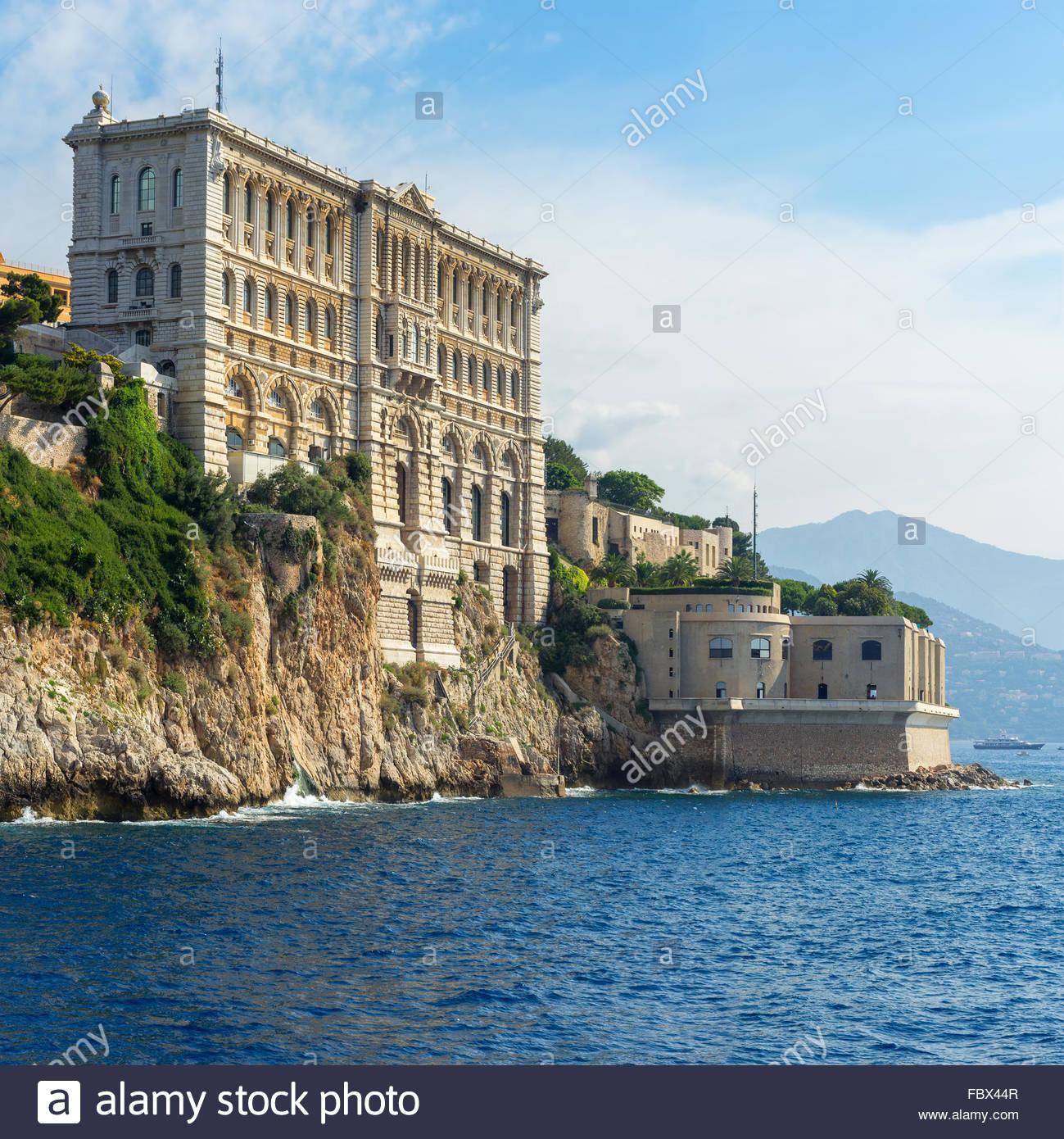 Museo Oceanografico di Monaco Immagini Stock