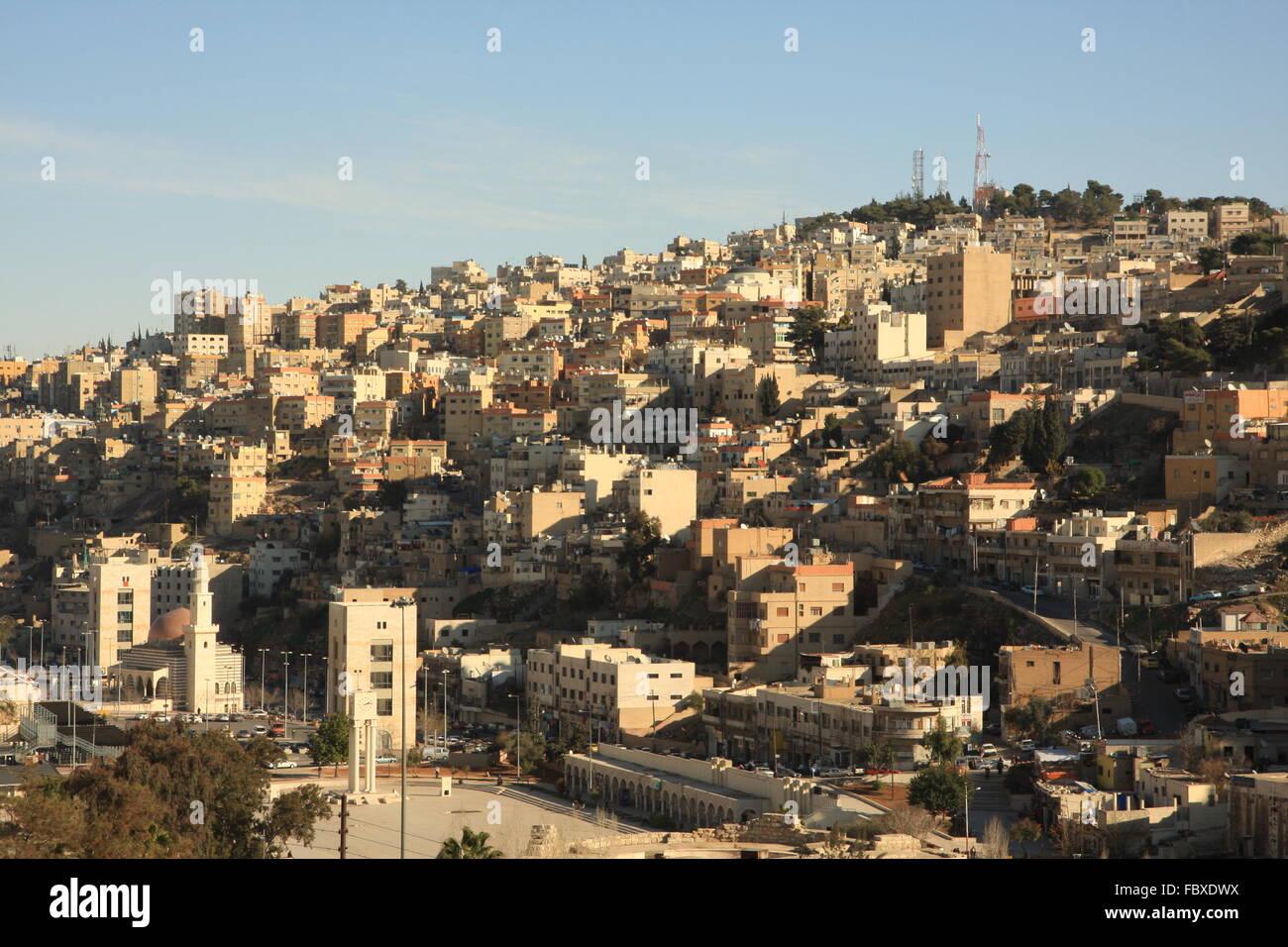 Amman Giordania Immagini Stock