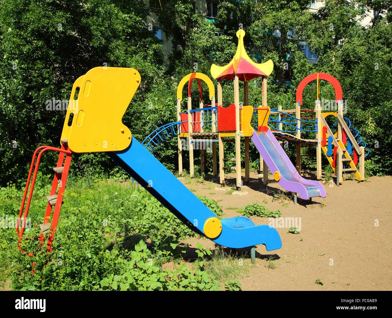 Vuoto disponibile parco giochi Immagini Stock