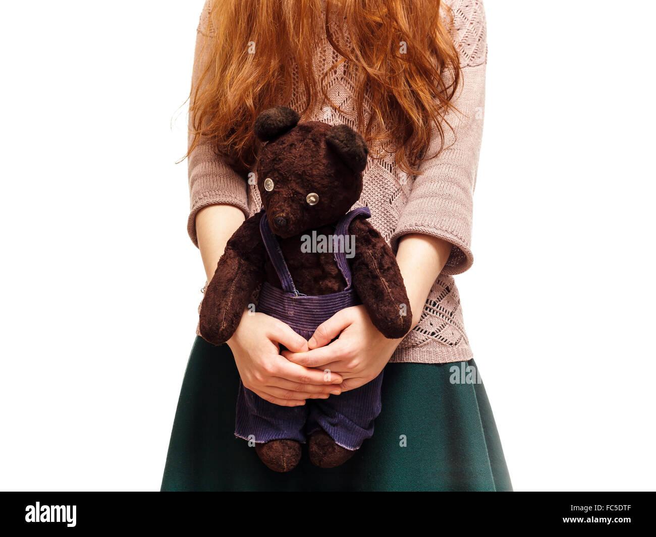 La solitudine e problemi di socializzazione in adolescenza Immagini Stock