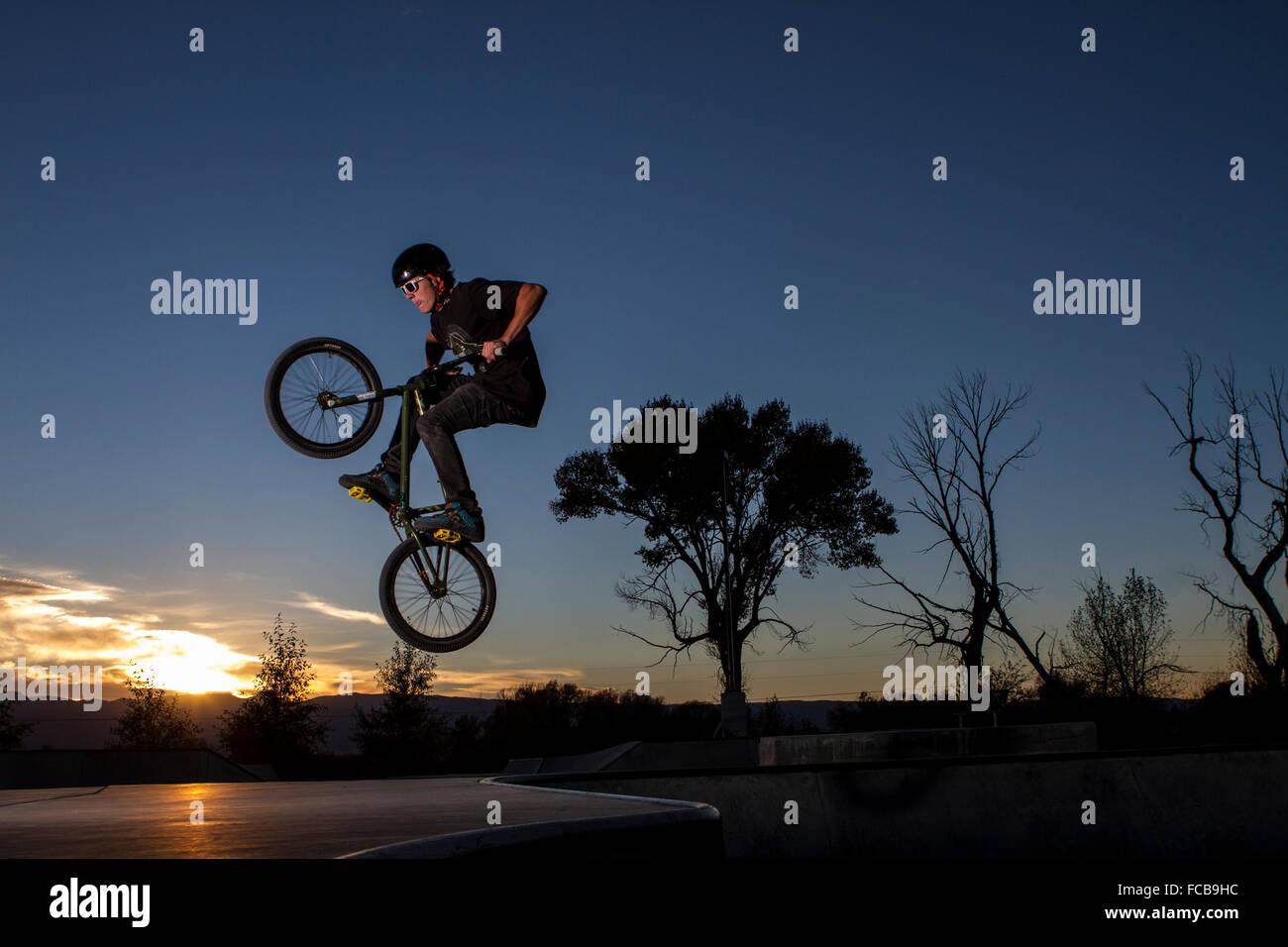 BMX bike Immagini Stock