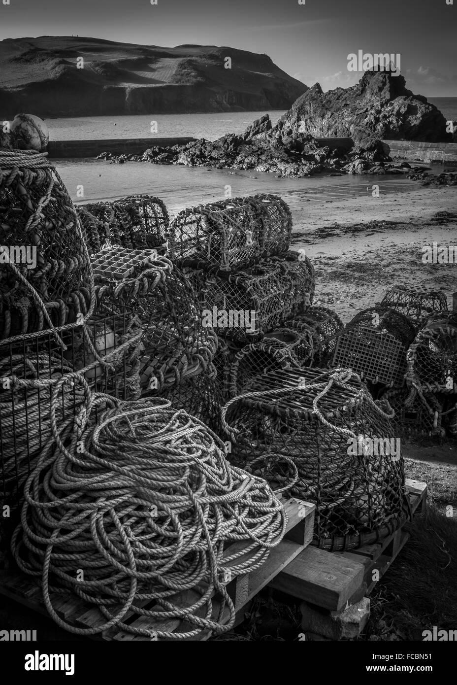 guazzabuglio di pesca Immagini Stock