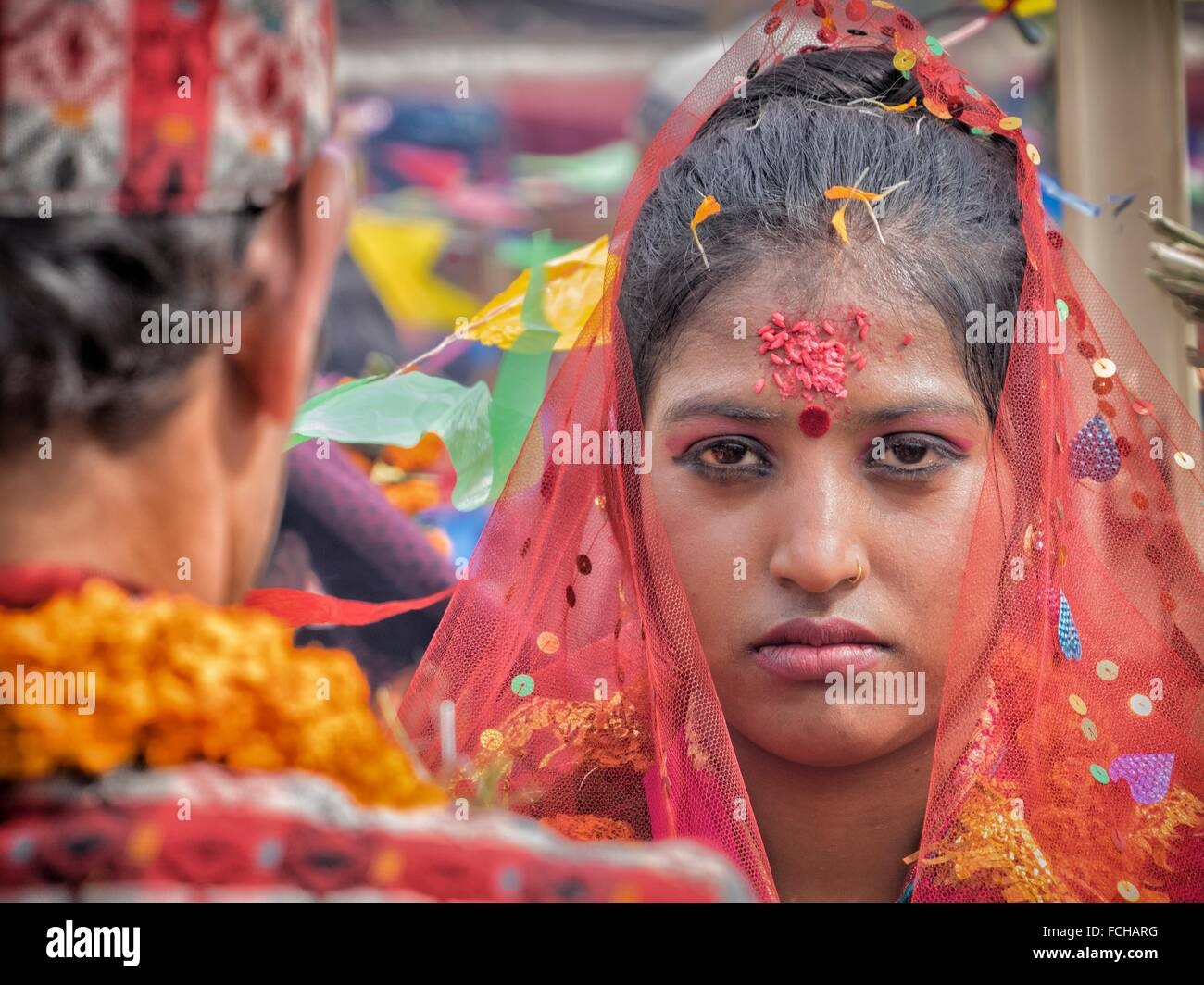 Matrimonio In Nepal : Matrimonio in nepal foto & immagine stock: 93809396 alamy
