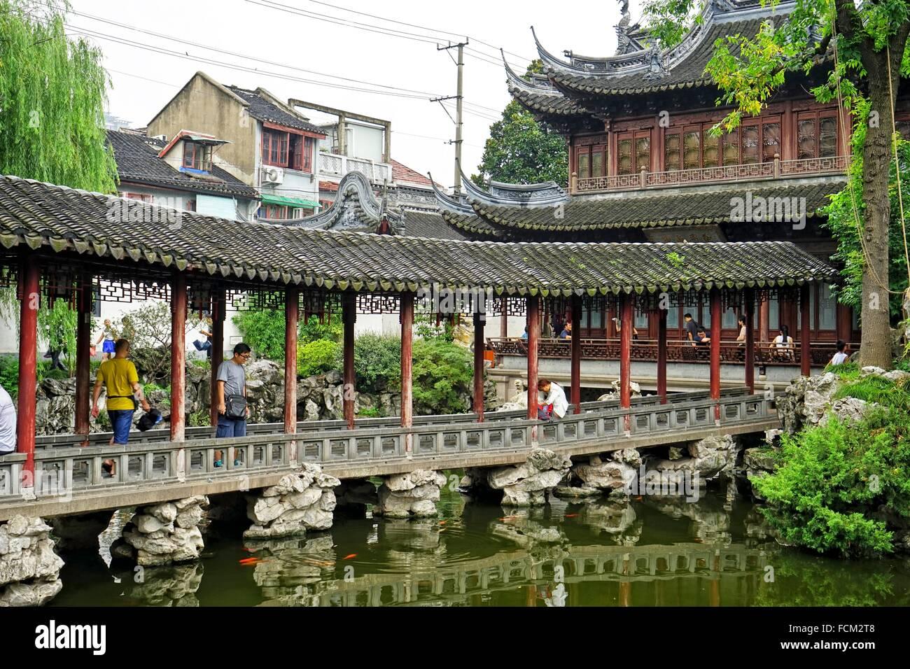 L 39 yuyuan o il giardino di yu jade garden citt vecchia shanghai in cina hall di giada - Il giardino di giada ...