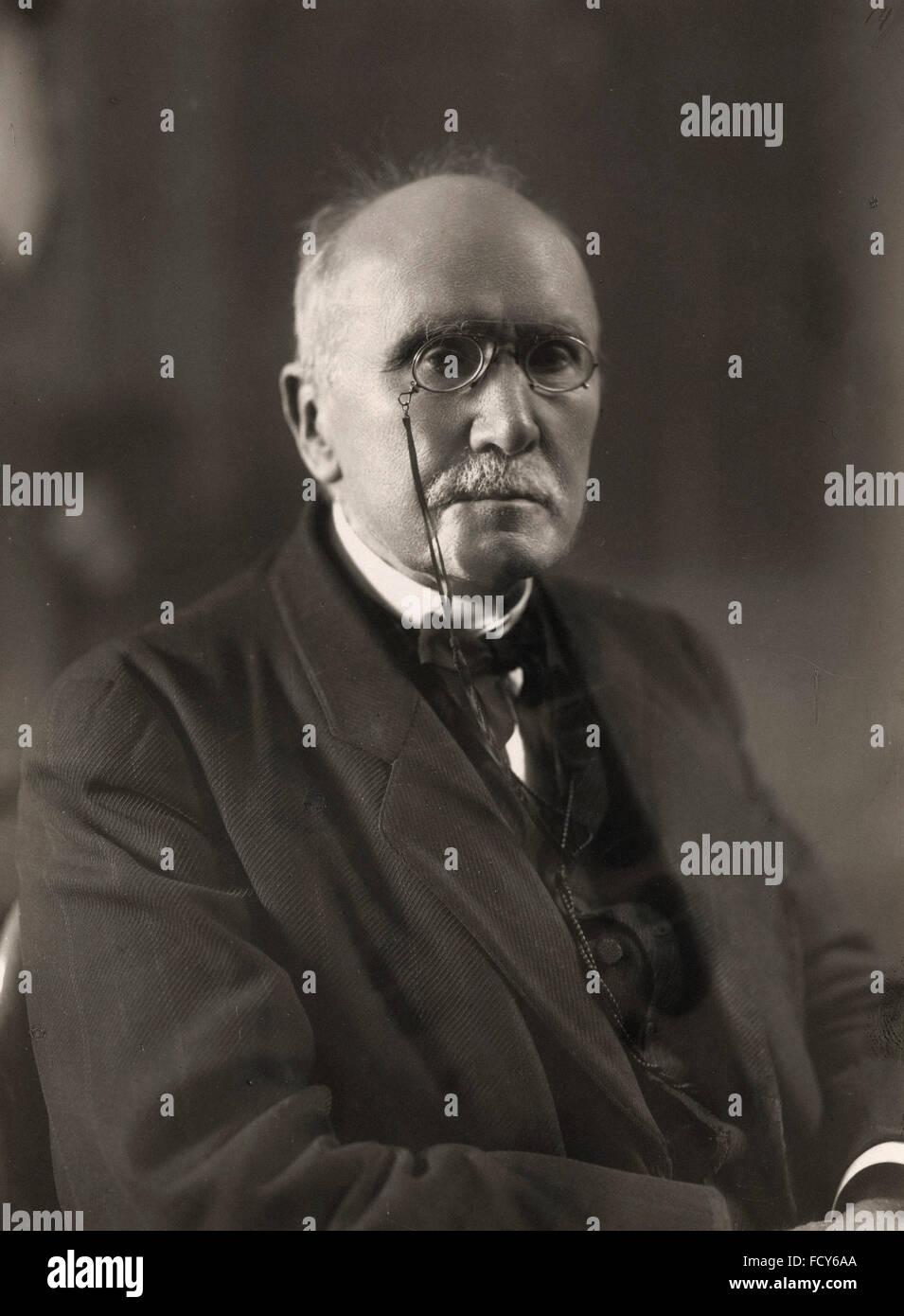 Ritratto di Édouard Branly 1844 1940 fisico Immagini Stock