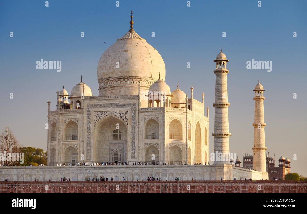 Taj Mahal - Agra, Uttar Pradesh, India Immagini Stock