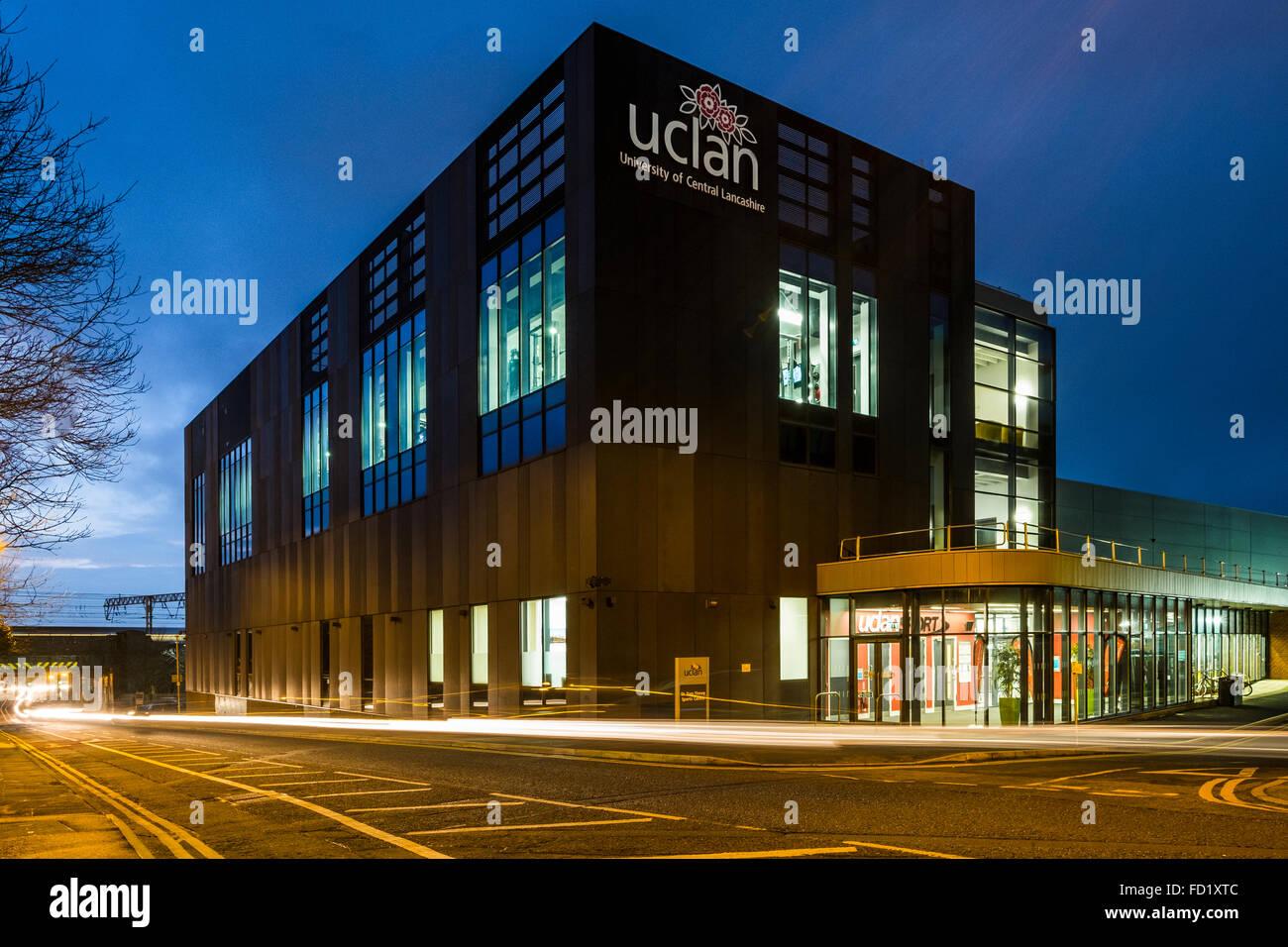 Il Sir Tom Finney centro sportivo presso la University of Central Lancashire (UCLAN) in Preston Immagini Stock