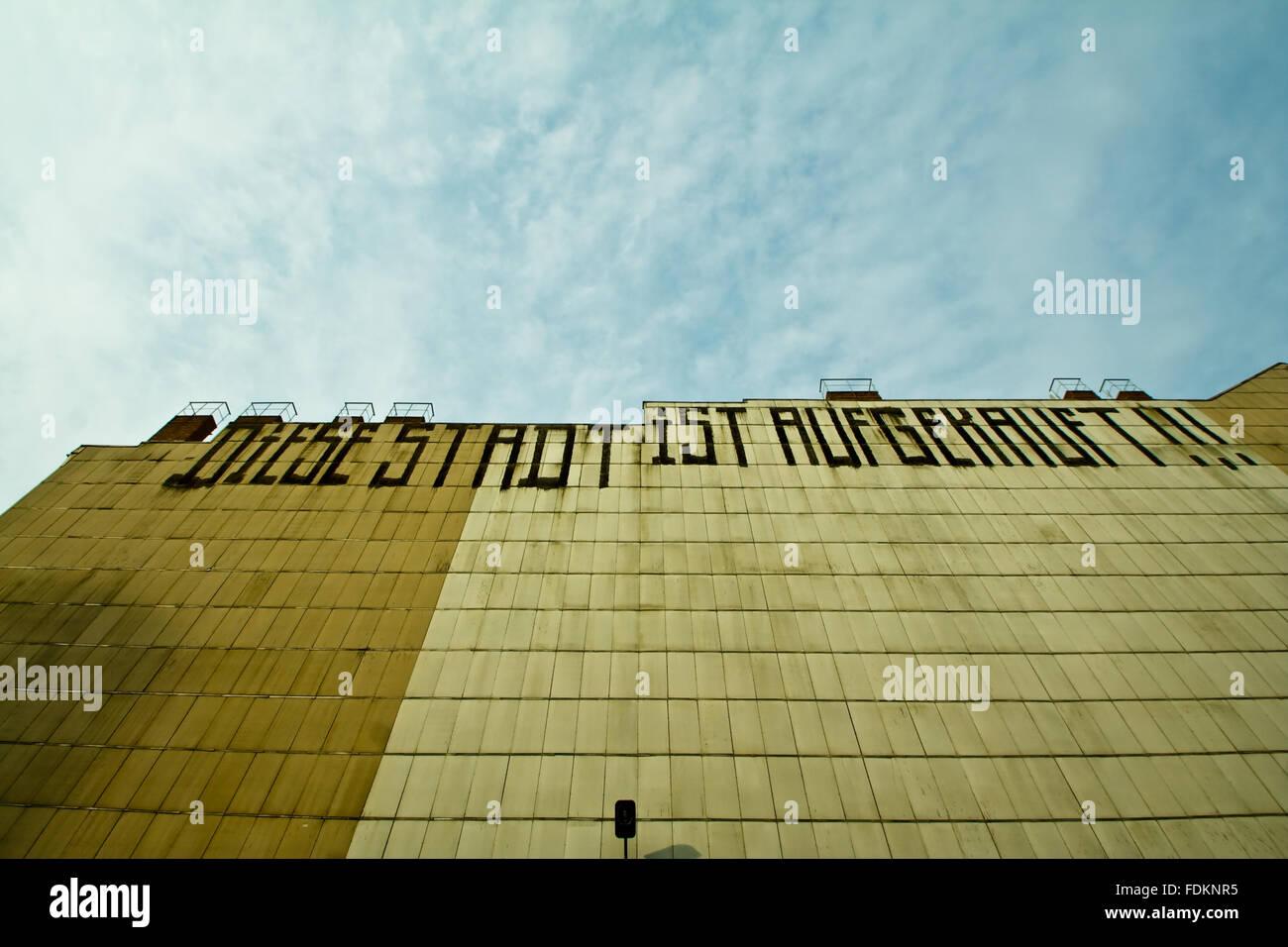 Graffiti,la libertà di espressione,vandalismo Immagini Stock