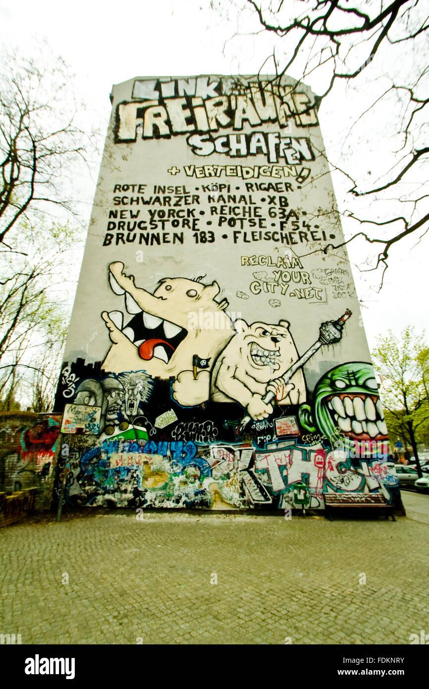 Graffiti,sottocoltura Immagini Stock