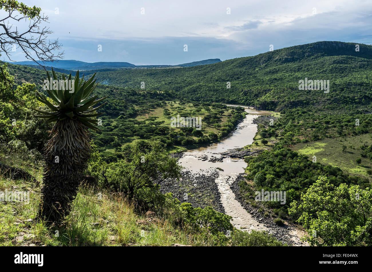 Kwa-Zulu Natal, Sud Africa Immagini Stock