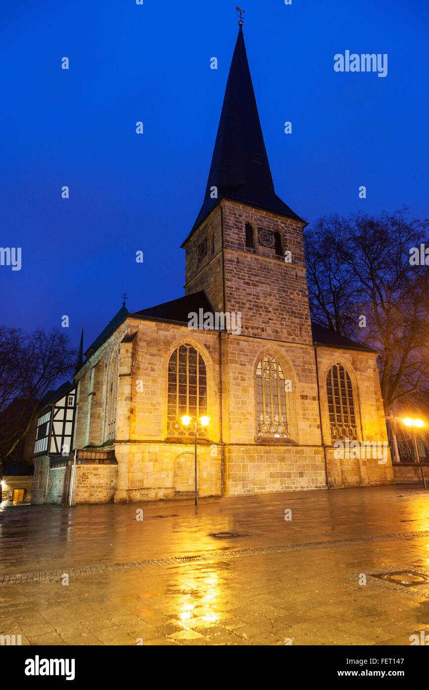 Johann Baptist Church di Essen Immagini Stock