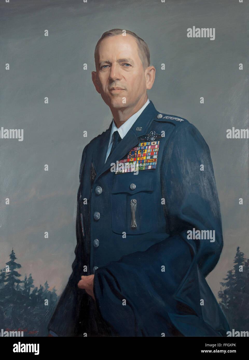 Larry D. Welch 1 Luglio 1986 - 30 giugno 1990 ex National Guardsman e Air Force ha arruolato stati Larry D. Welch Immagini Stock