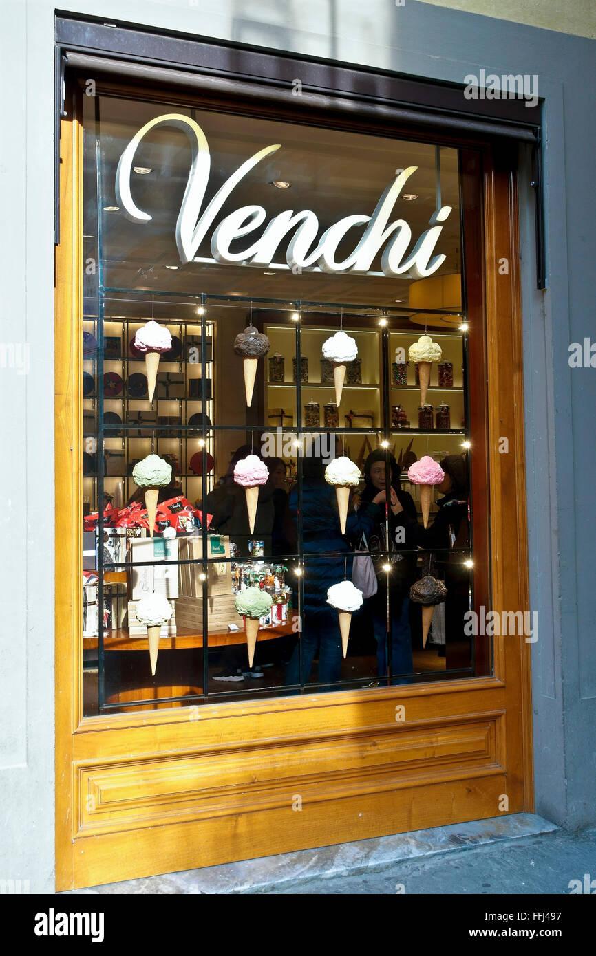 best loved 1aa3e 9208f Un gelato italiano shop in Firenze. L'Italia, Europa Foto ...