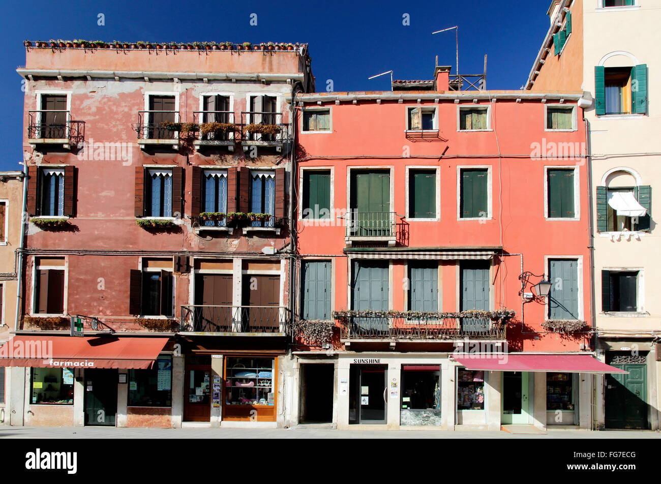 Geografia / viaggi, Italia, Veneto, Venezia, Castello trimestre, Via Giuseppe Garibaldi, Additional-Rights-Clearance Immagini Stock