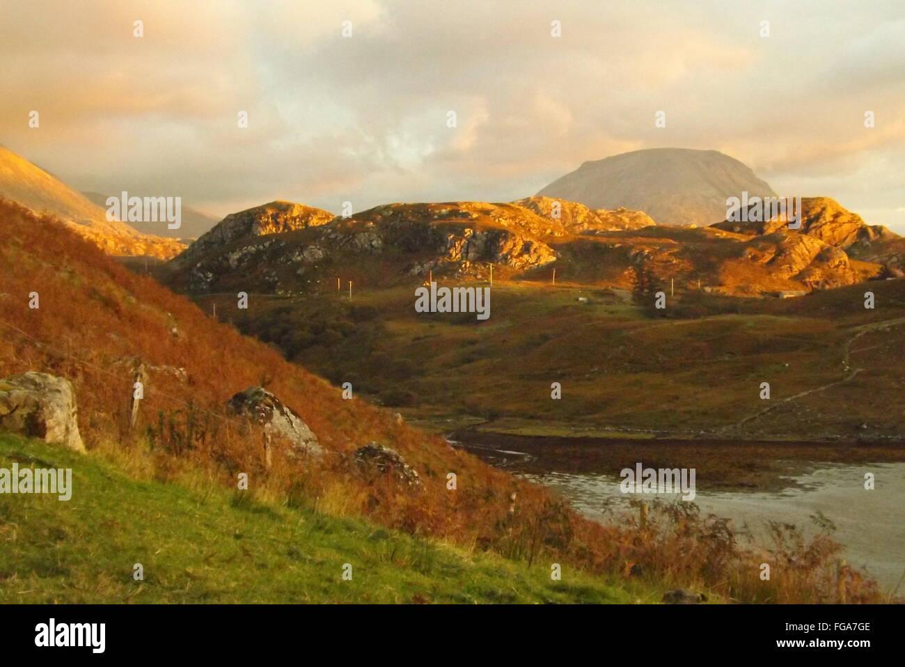 Ben Arkle, Scozia. Foto Stock