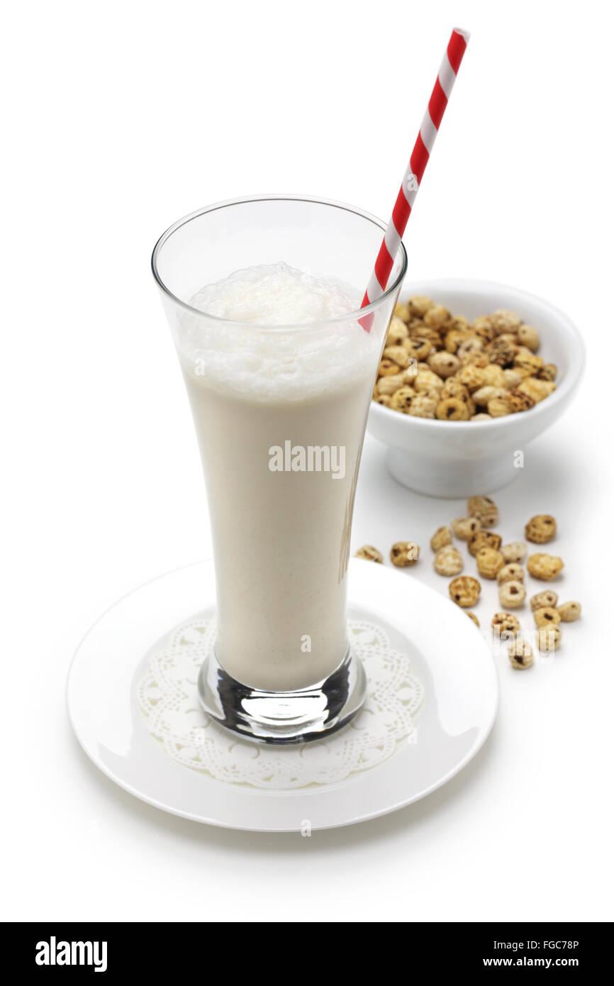 In casa horchata, spagnolo valencia soft drink Immagini Stock
