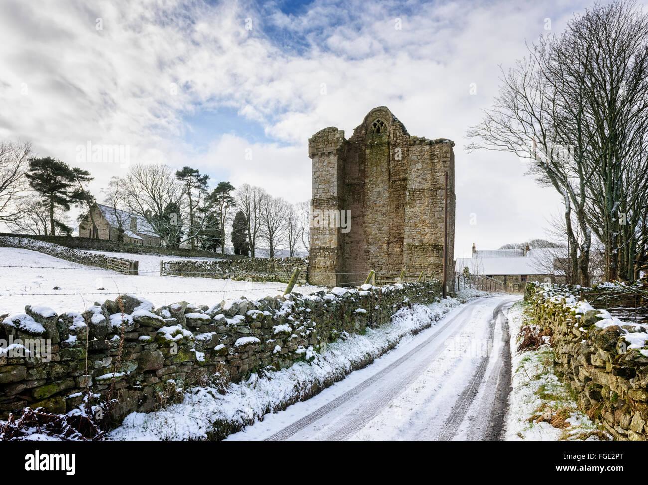 Muggleswick Priory Immagini Stock