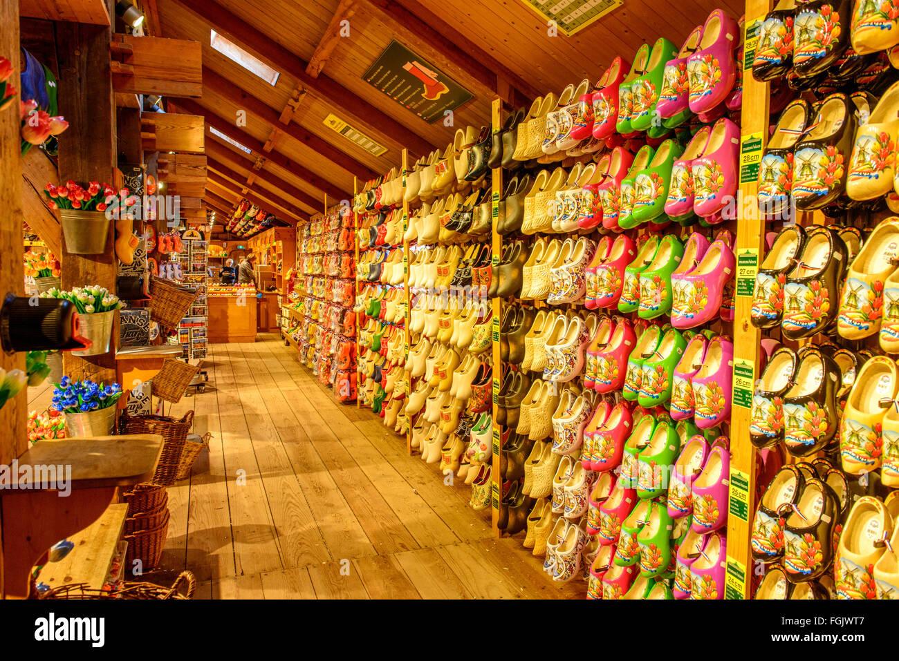 Tradizionale zoccoli olandese Immagini Stock