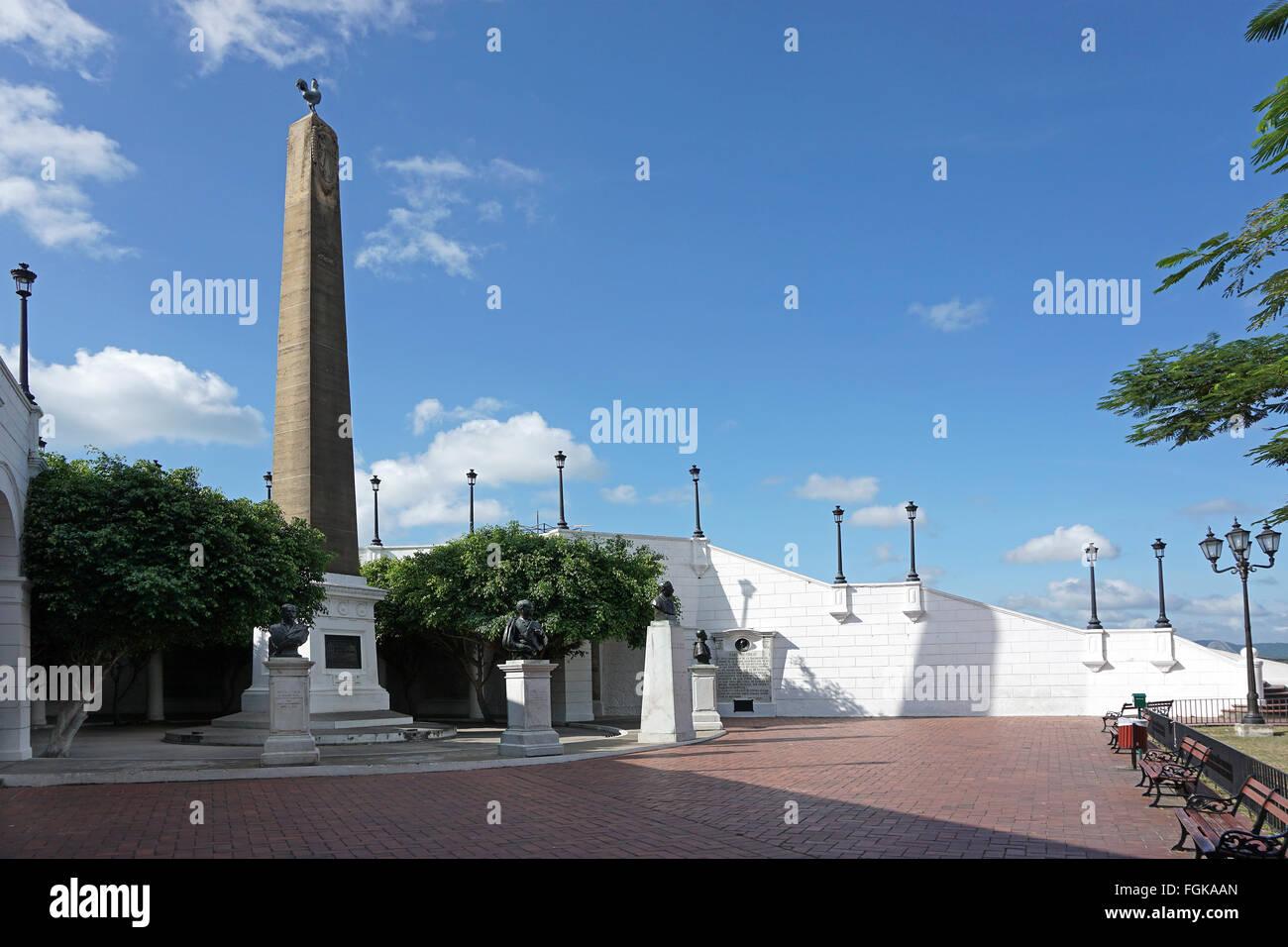 Plaza de Francia Square nella città di Panama Immagini Stock