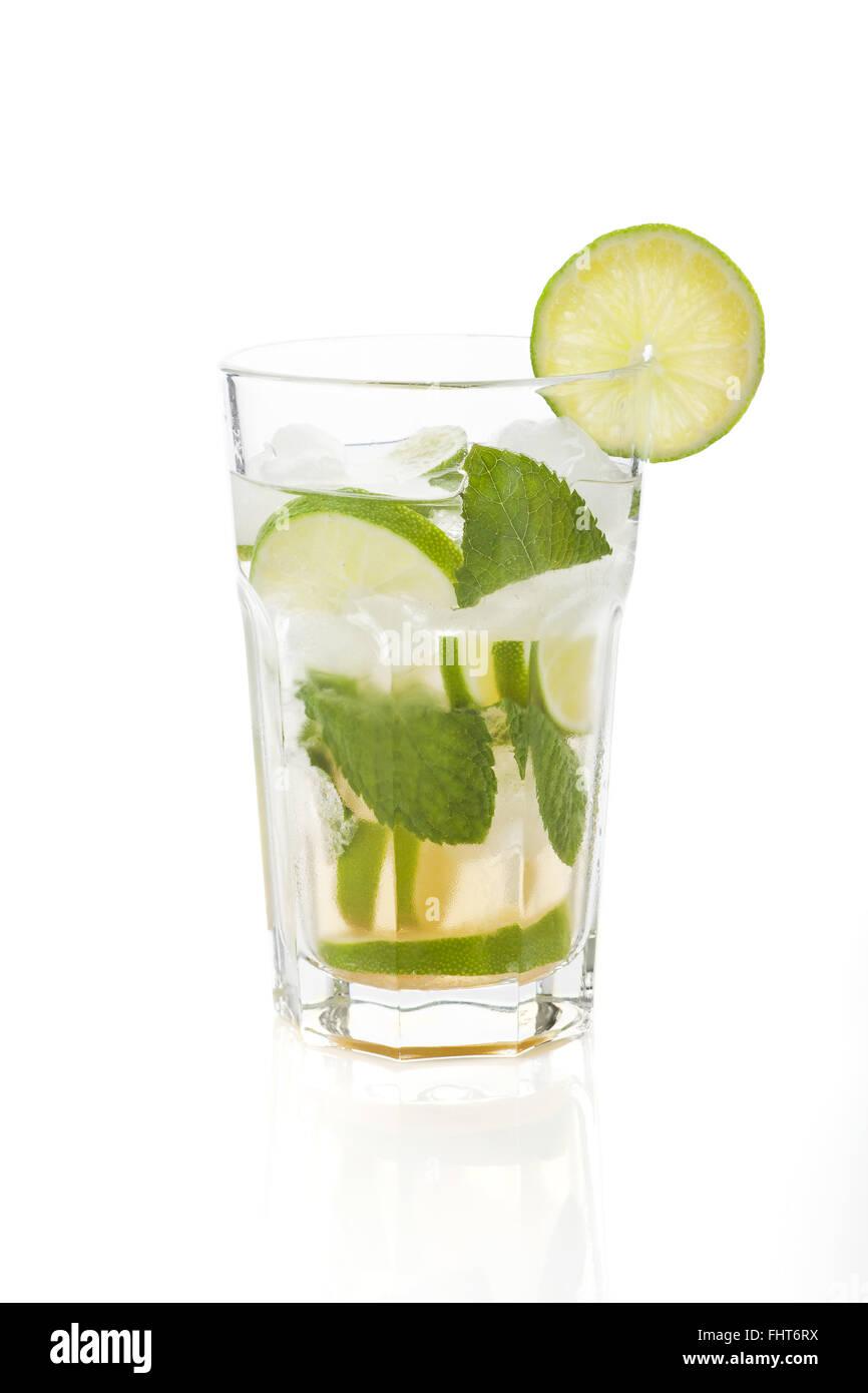 Virgin mojito. Mocktail. Immagini Stock