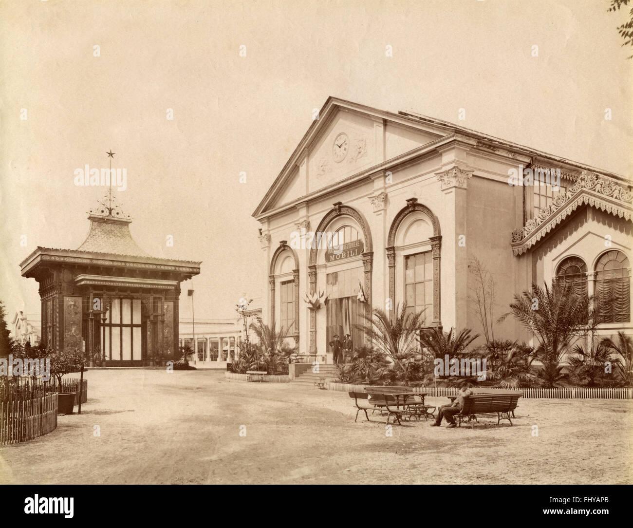 Esposizione Generale Italiana di Torino del 1884, Padiglione ...