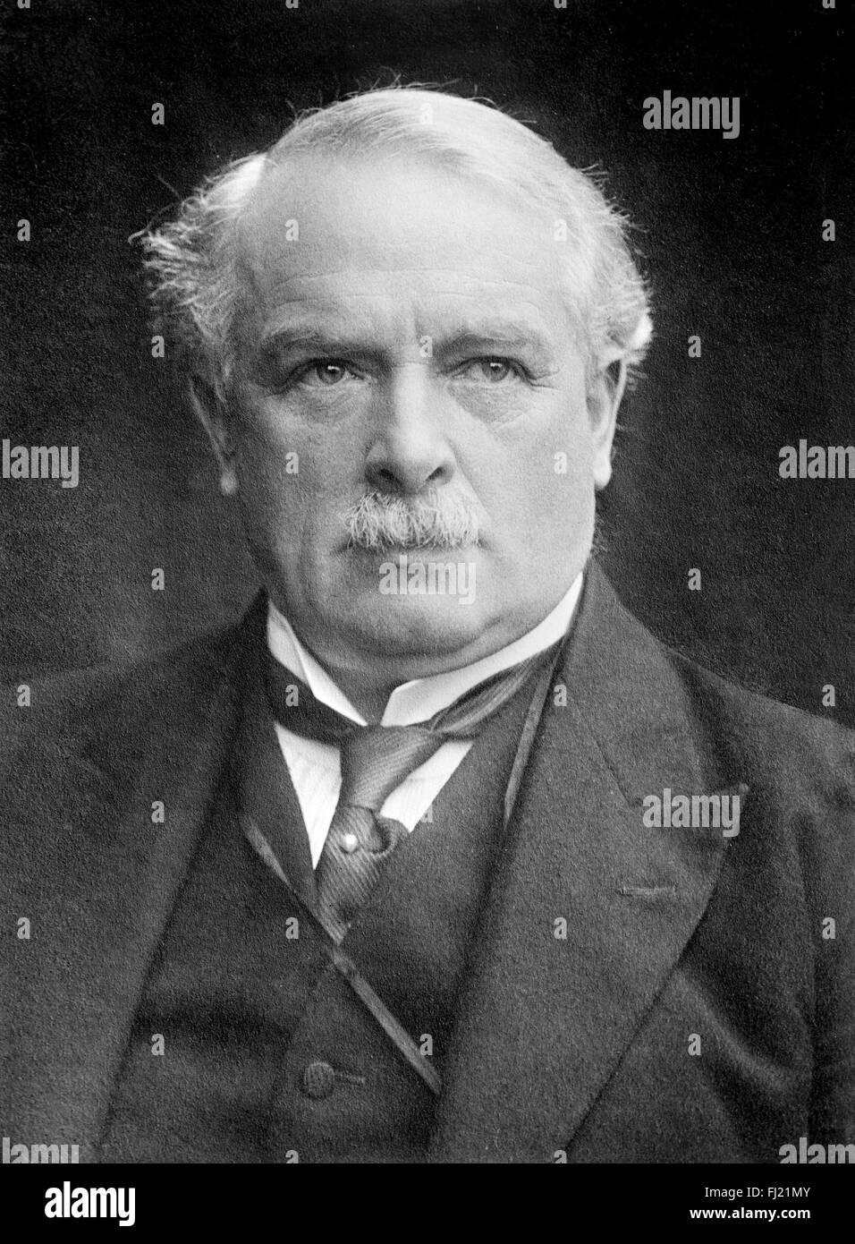 David Lloyd George Immagini Stock