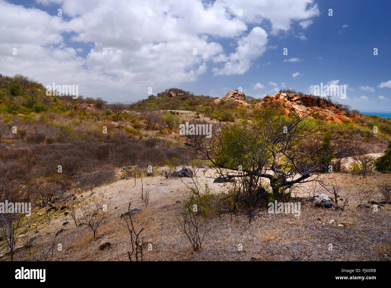 Paesaggio di montagna in Nationalpark Montagne des Francais, Madagascar, Montagne des Francais Immagini Stock