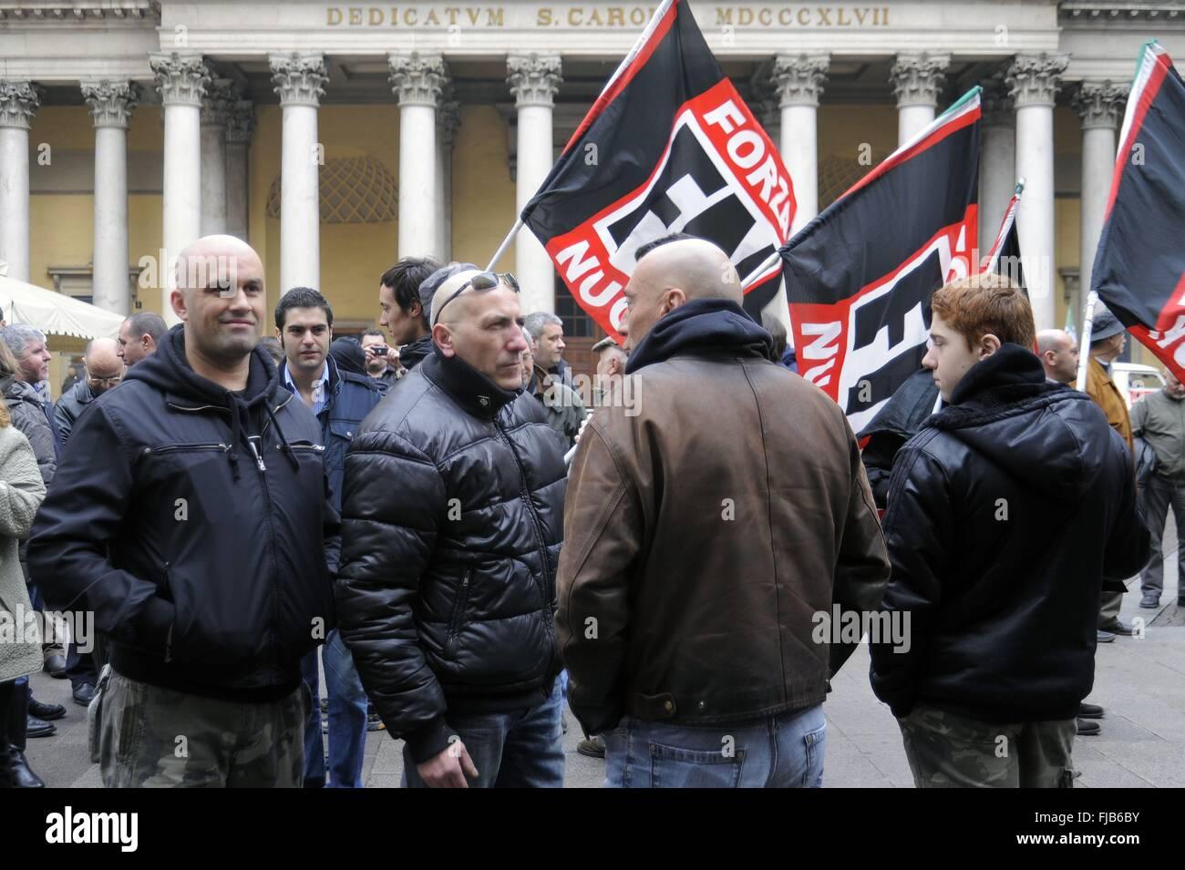 Risultato immagini per neonazi milano