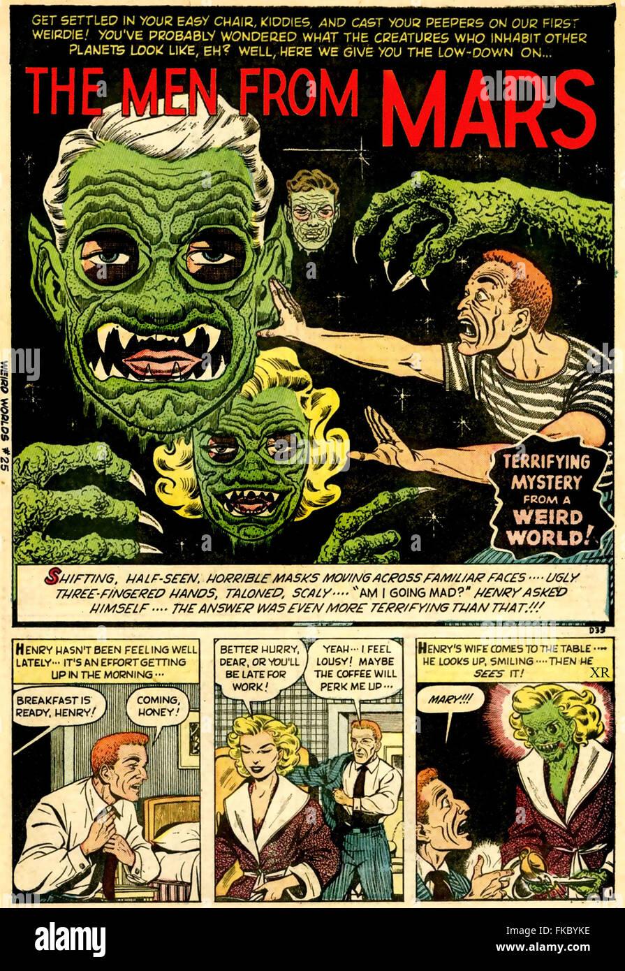 Illustrazioni di piastra di fumetti Immagini Stock