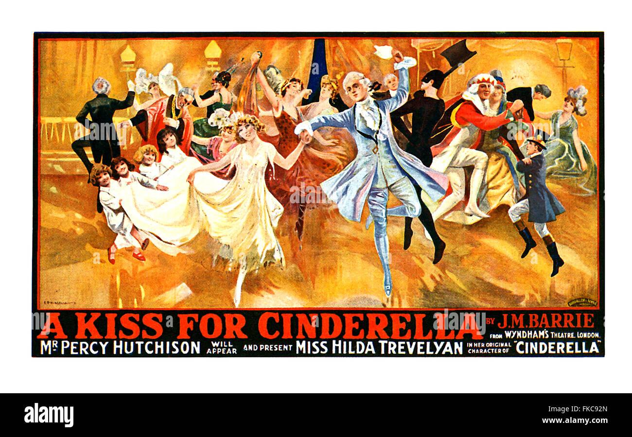 Stati Uniti d'America Cinderella Poster Immagini Stock