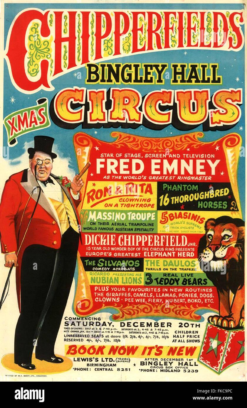 Regno Unito Chipperfields Poster Immagini Stock