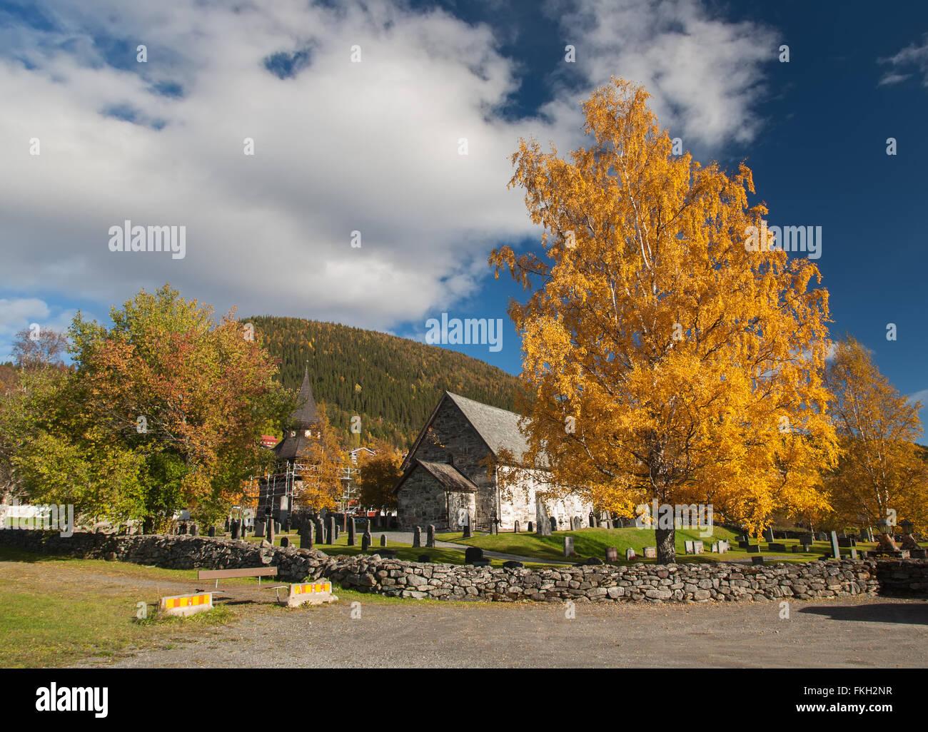 Norvegia natura Nord scandinavo paesaggi di viaggio Immagini Stock