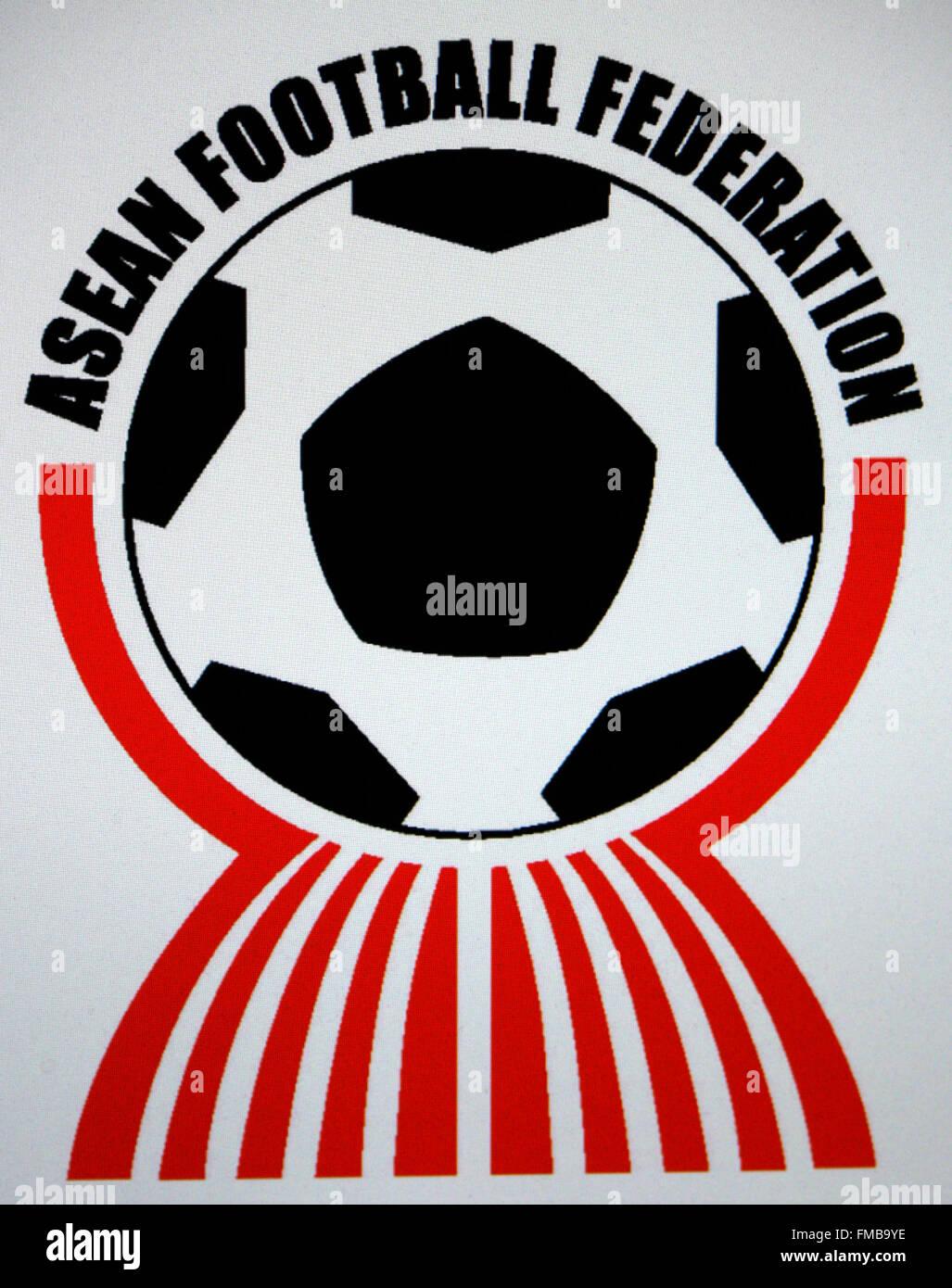 Markenname: 'l'Asean Federazione calcio', Berlino. Immagini Stock