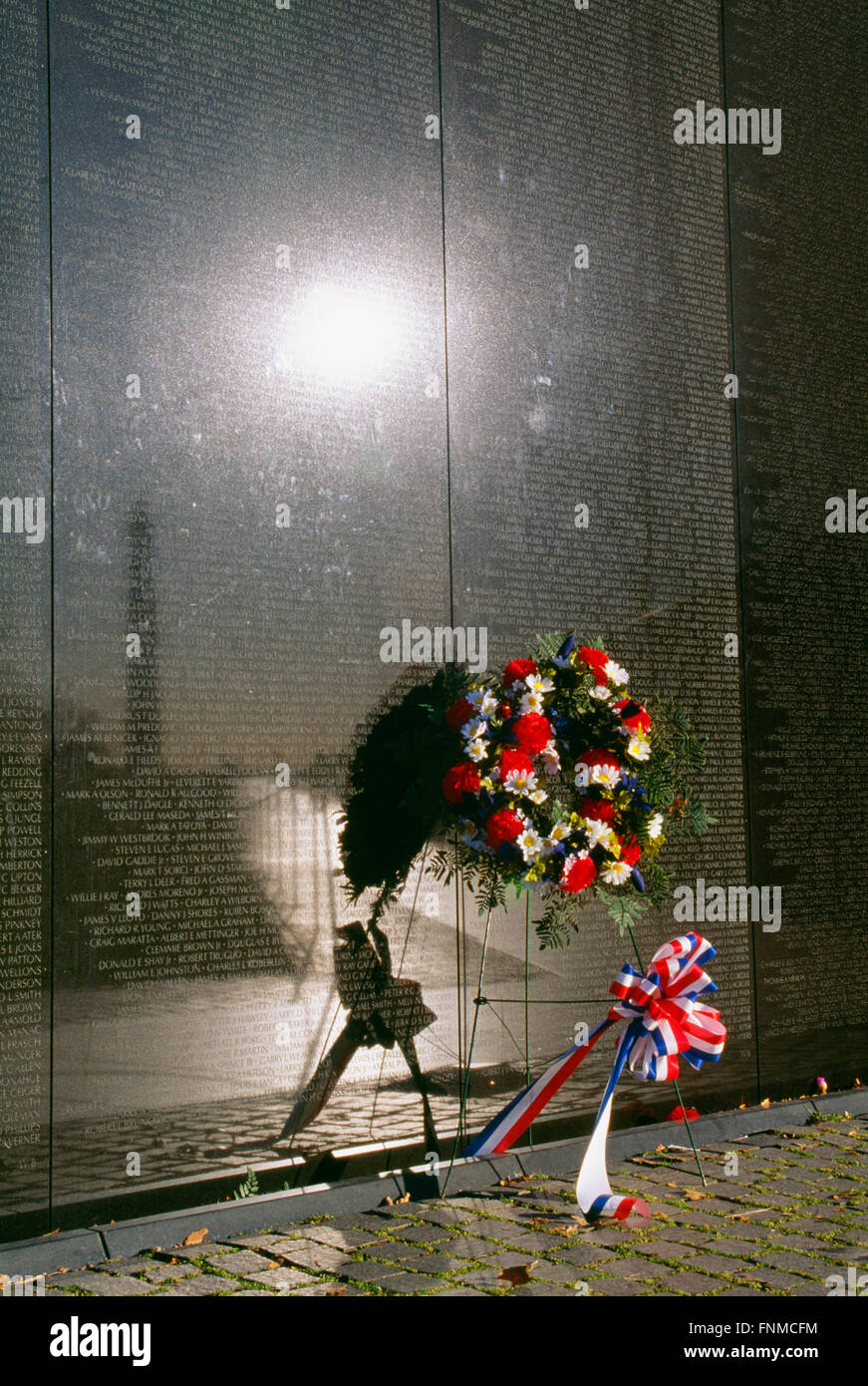 Vietman Veterans Memorial, Washington, DC, Stati Uniti d'America Foto Stock