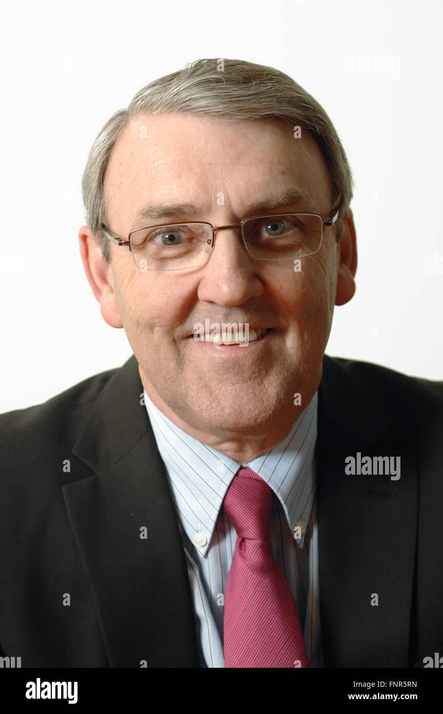 Kevin Murray Presidente di pubbliche relazioni a comunicazioni di avviso acustico Immagini Stock