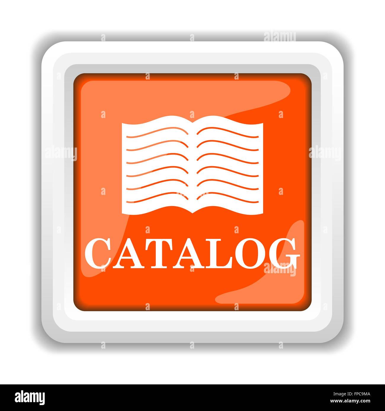 Icona di catalogo Immagini Stock