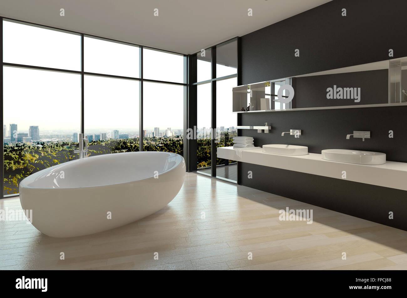 Vasca Da Bagno Grande Dimensioni : Architectural interior design arredate zona bagno con vasca da