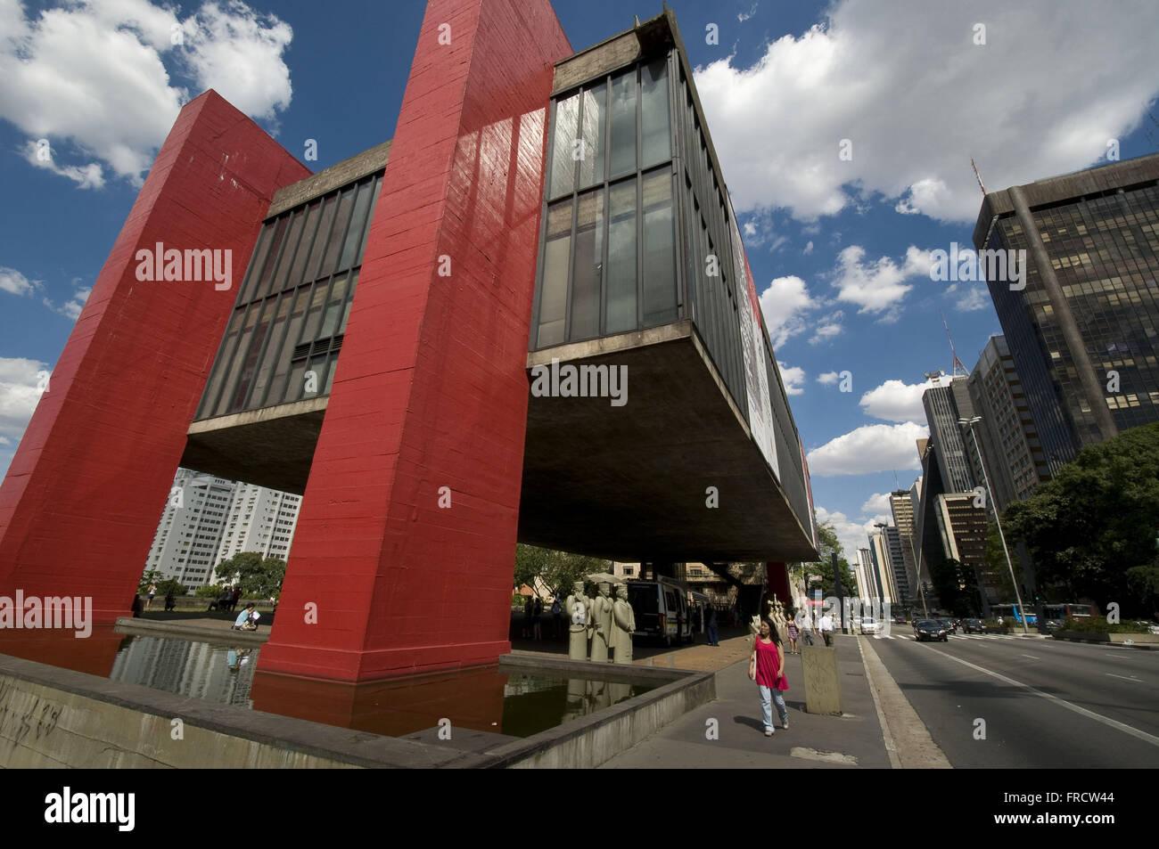 MASP - Museu de Arte de Sao Paulo - Assis Chateaubriand Immagini Stock