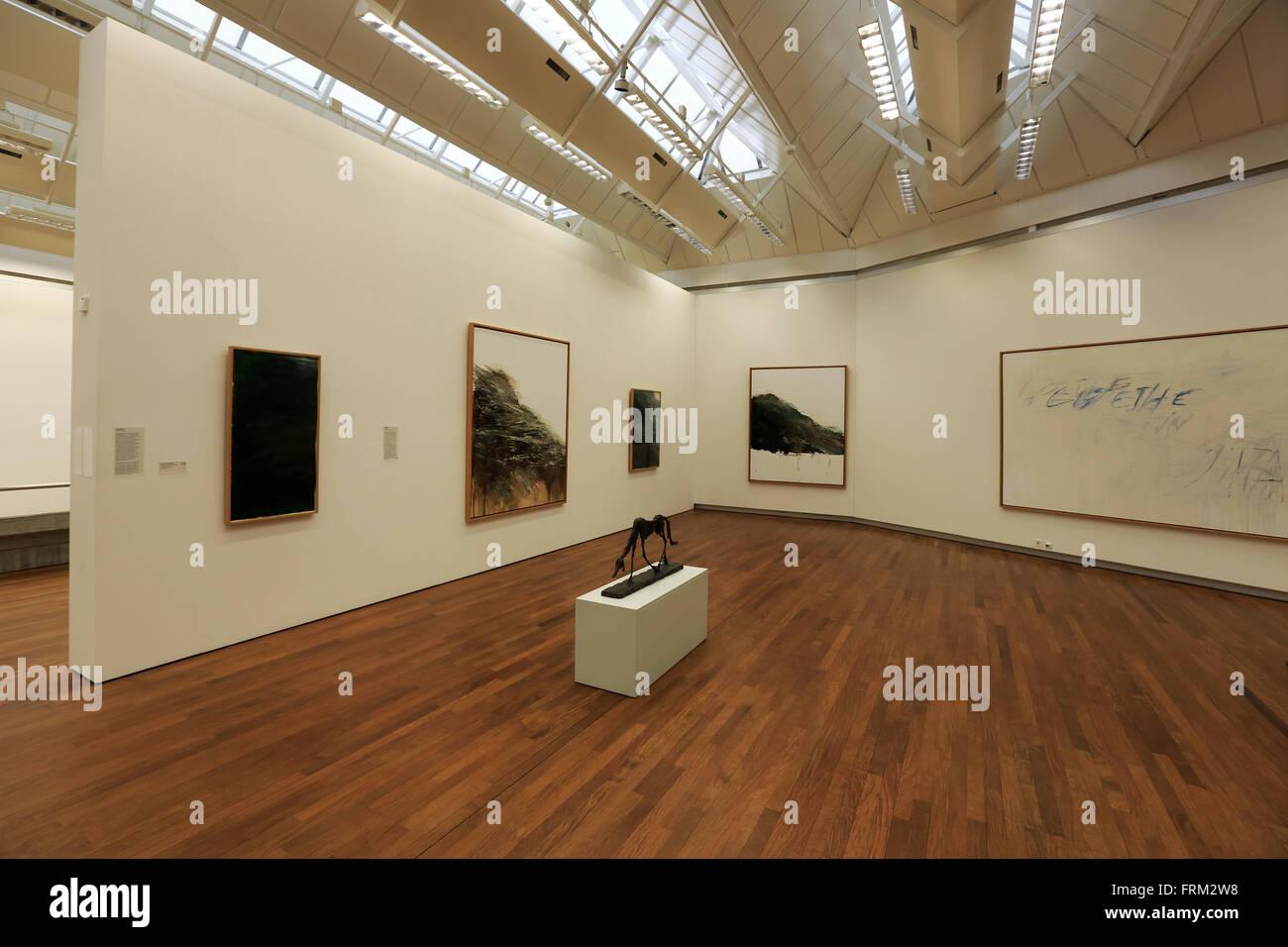 La fotografia mostra nel Kunsthaus di Zurigo Il museo d arte moderna di Zurigo, Zurigo, Svizzera Immagini Stock