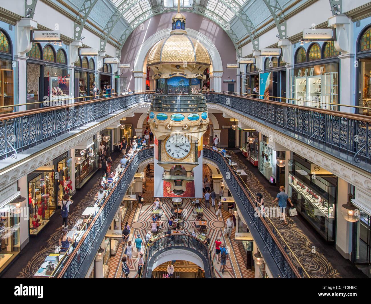 Queen Victoria Building, Sydney Immagini Stock