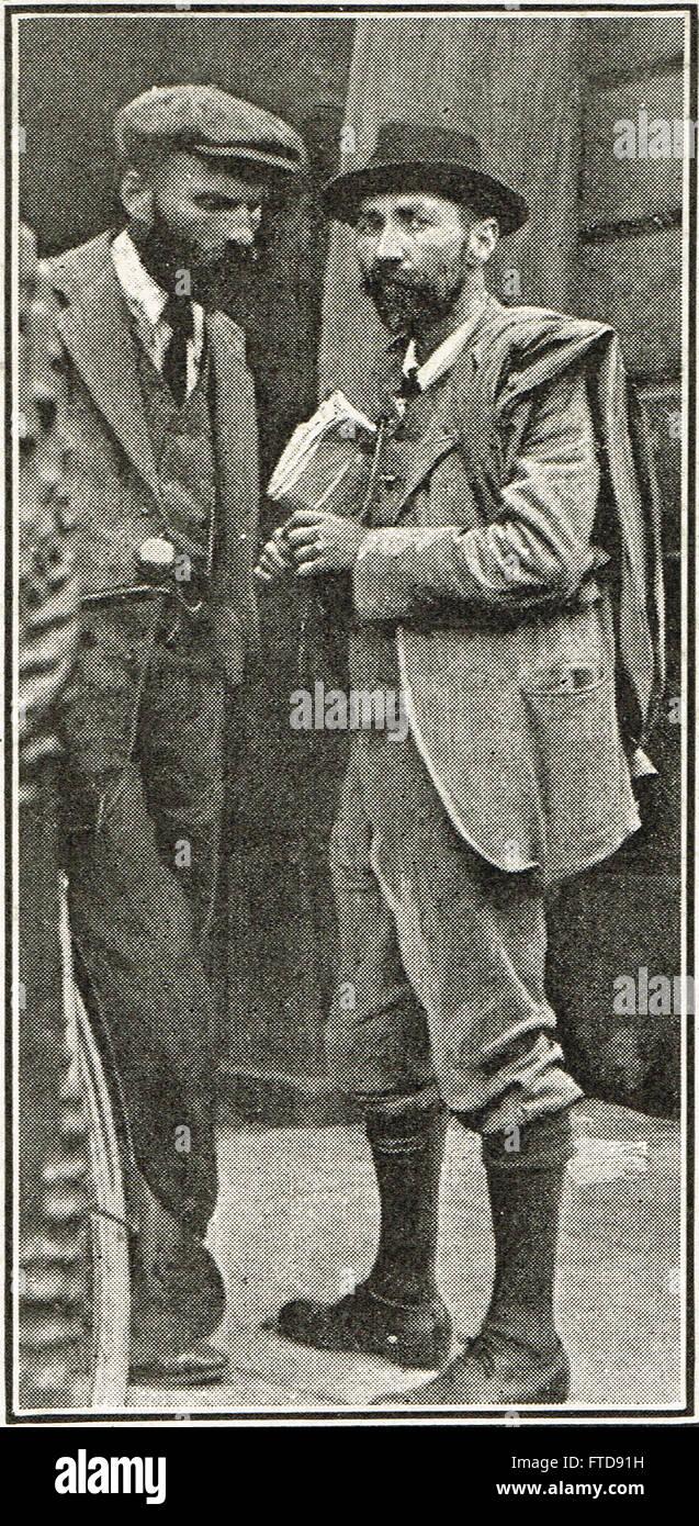 Francesco Sheehy-Skeffington assassinato dall esercito britannico insurrezione di Pasqua 1916 Immagini Stock