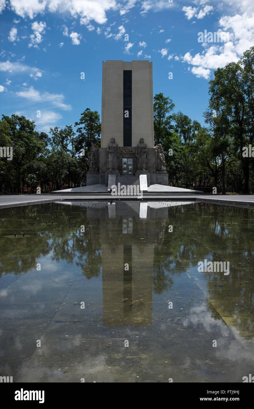 Monumento Alvaro Obregon Immagini Stock