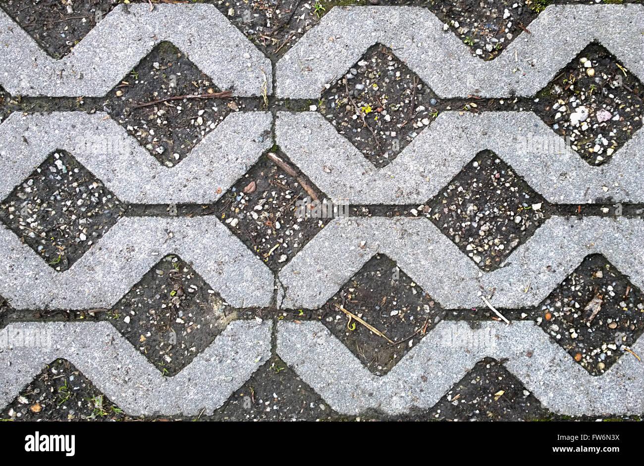 Hd texture seamless giardino blocco di pietra pavimentazione con