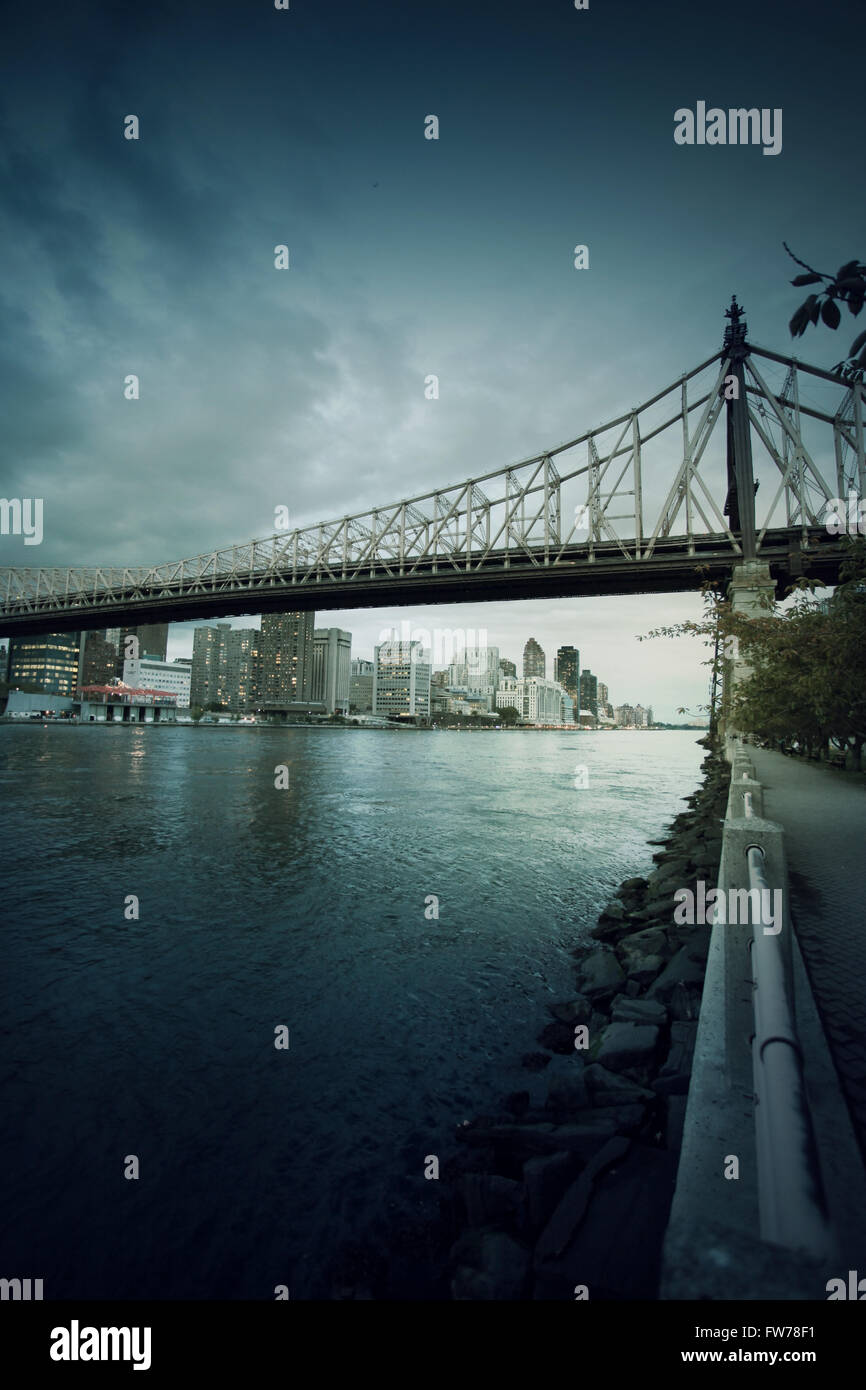 New York cityscape Foto Stock