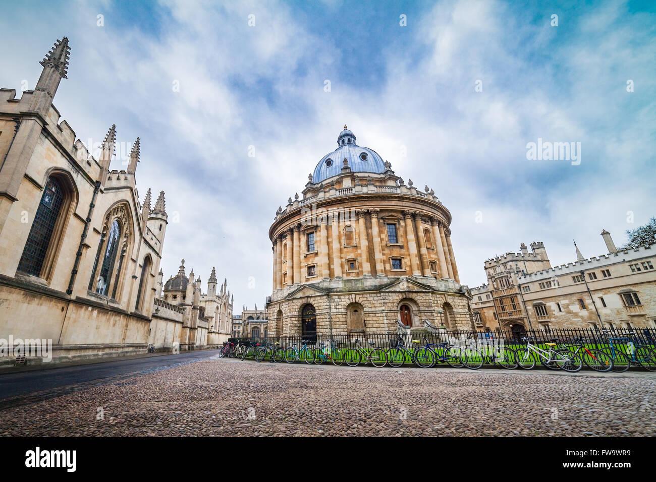 La Radcliffe Camera Library , edificio dell'Università di Oxford, Regno Unito Immagini Stock